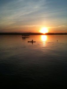 kayak, life, journey, meditation, reflection, sunset, water, prayer, spiritual, God, Jesus