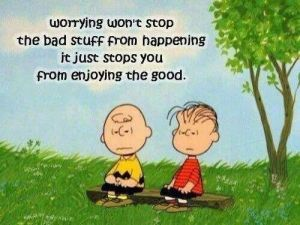worry, Charlie Brown, Peanuts, joy, peace, serenity