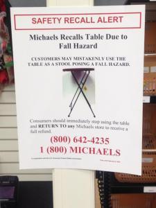 Michaels, common sense, peace, joy, perspective, serenity