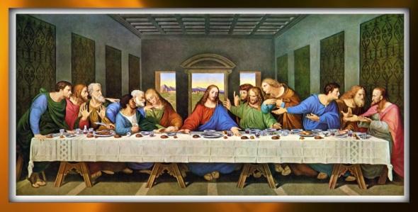 Da Vinci, last supper, Jesus, Judas, passover, serenity